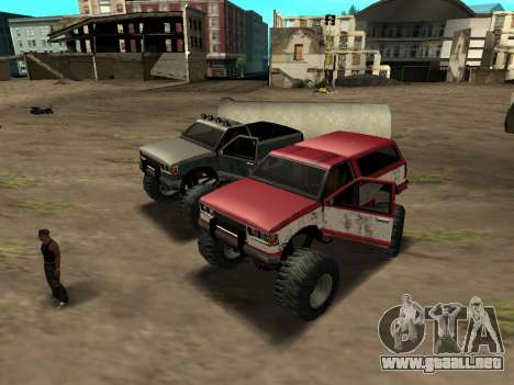 Street Monster para GTA San Andreas left