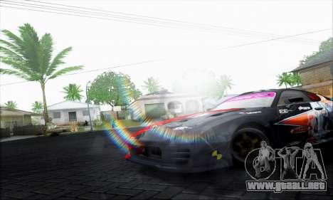 Lensflare By DjBeast para GTA San Andreas tercera pantalla