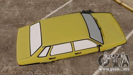 VAZ-Lada 21099 Satélite para GTA 4 visión correcta