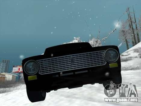 ВАЗ 2101 Optimización de Estilo para GTA San Andreas vista posterior izquierda