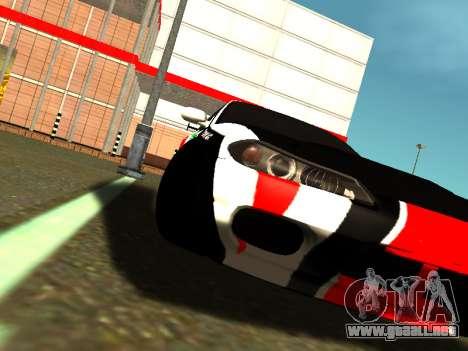 Nissan Silvia S15 Team Dragtimes para GTA San Andreas vista hacia atrás