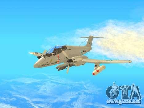 FMA IA-58 Pucara para GTA San Andreas left