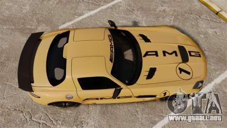 Mercedes-Benz SLS 2014 AMG Driving Academy v2.0 para GTA 4 visión correcta