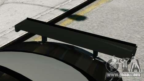 Mercedes-Benz C63 AMG Black Series 2012 para GTA 4 Vista posterior izquierda