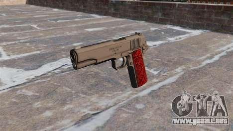 Pistolas Colt 1911 Chrome para GTA 4 tercera pantalla