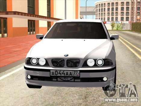 BMW 530d E39 para GTA San Andreas left