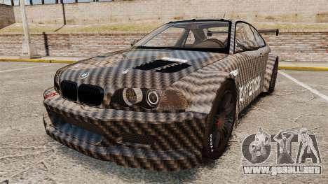 BMW M3 GTR 2012 Drift Edition para GTA 4