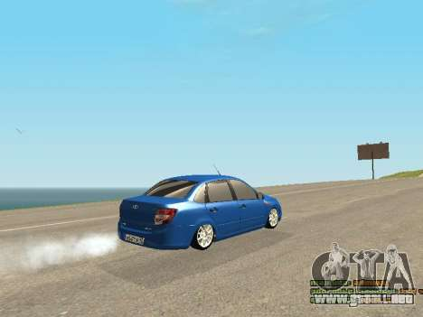 VAZ 2190 para vista inferior GTA San Andreas