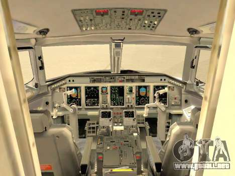 Embraer 175 HOUSE para las ruedas de GTA San Andreas
