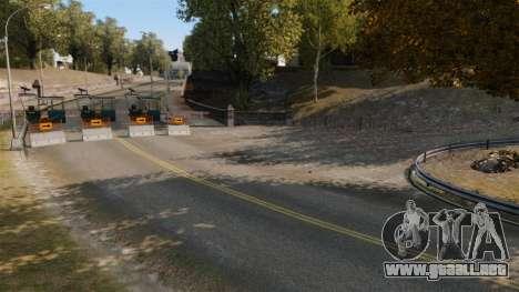 Rally de pista para GTA 4 octavo de pantalla