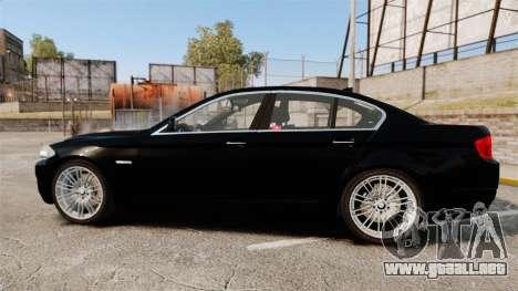 BMW M5 F10 2012 Japanese Unmarked Police [ELS] para GTA 4 left