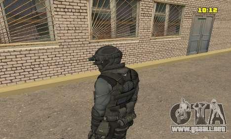 Arquero de juego Splinter Cell conviction para GTA San Andreas segunda pantalla