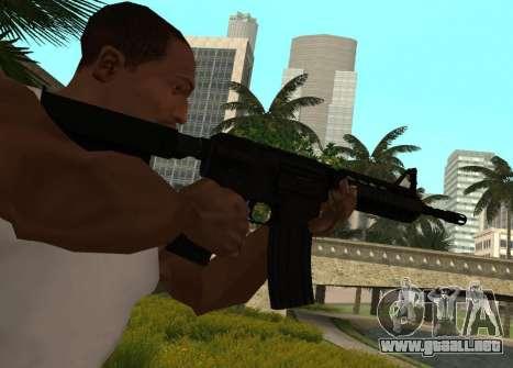 M4 CQB para GTA San Andreas segunda pantalla