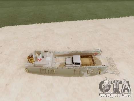 Landing Craft para vista lateral GTA San Andreas