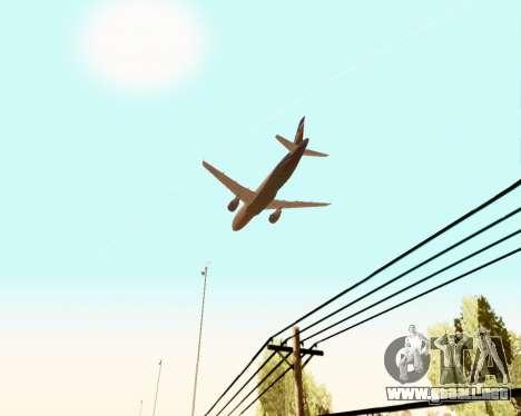 Airbus A320-200 De Aeroflot para el motor de GTA San Andreas