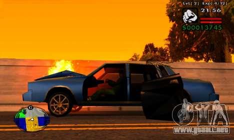 Tira de las máquinas de HP para GTA San Andreas tercera pantalla