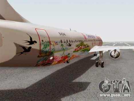 Airbus A320-211 China Eastern para visión interna GTA San Andreas