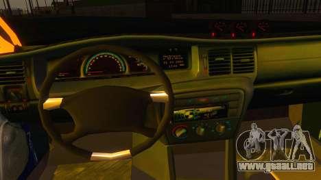 Opel Vectra B TUNING para GTA San Andreas vista hacia atrás