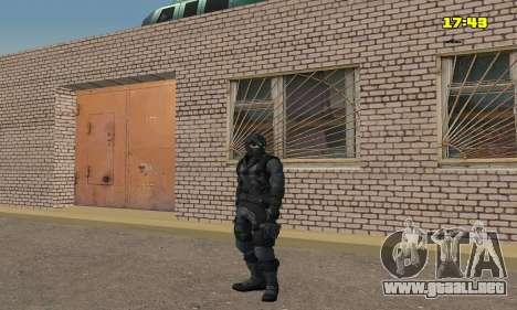 Arquero de juego Splinter Cell conviction para GTA San Andreas sucesivamente de pantalla