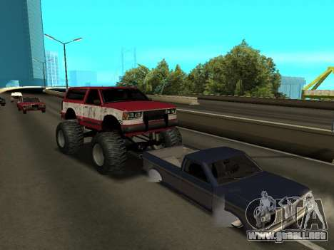 Street Monster para la vista superior GTA San Andreas