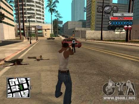 El nuevo C-HUD para GTA San Andreas