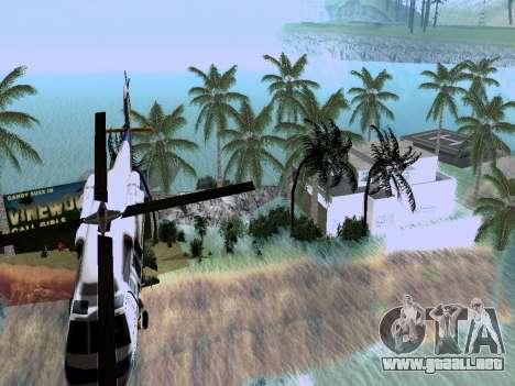 Nueva isla v1.0 para GTA San Andreas tercera pantalla