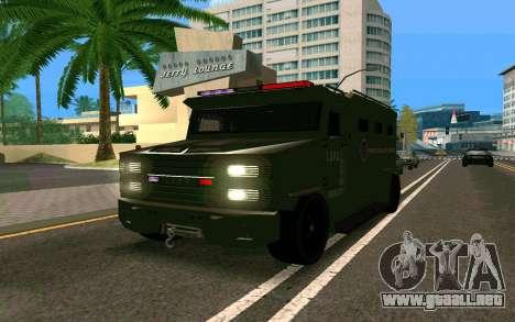 GTA V Police Riot para GTA San Andreas