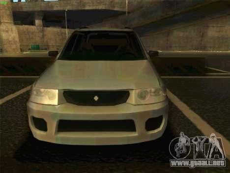 Mazda Demio 1998 para la visión correcta GTA San Andreas