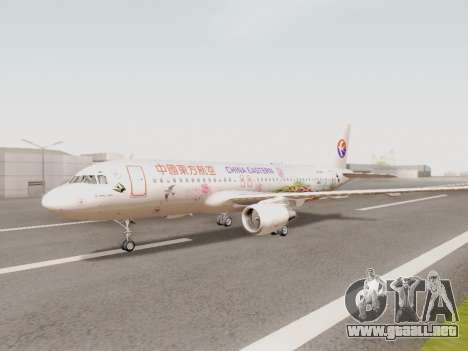 Airbus A320-211 China Eastern para GTA San Andreas