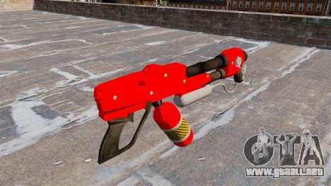 El lanzallamas MX-295 para GTA 4 segundos de pantalla