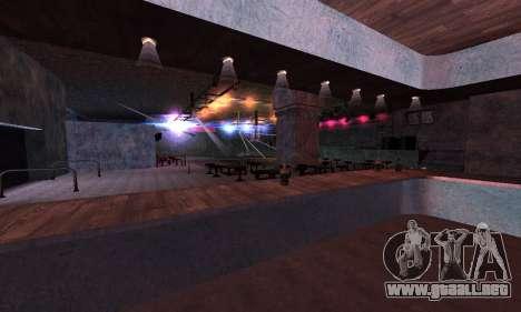 Retexture Jizzy, Alhambra, Pig Pen para GTA San Andreas quinta pantalla