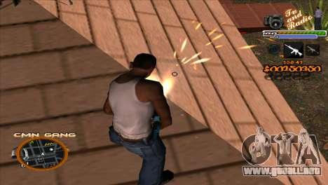 C-HUD TV-Centro para GTA San Andreas tercera pantalla