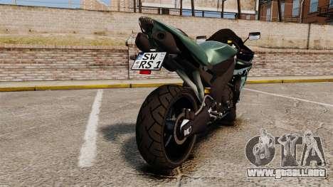 Yamaha R1 RN12 [Update] para GTA 4 visión correcta