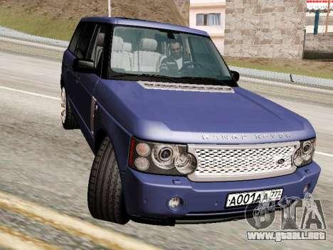 Land Rover Supercharged Stock 2010 V2.0 para GTA San Andreas