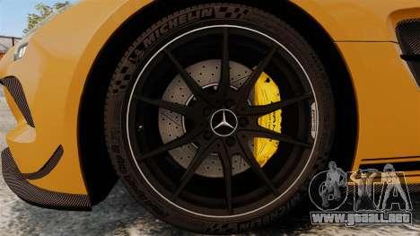 Mercedes-Benz SLS 2014 AMG Performance Studio para GTA 4 vista hacia atrás
