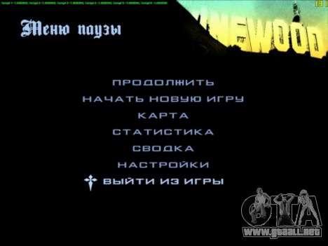 FPS Optimizator para GTA San Andreas segunda pantalla