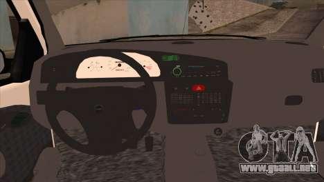 Fiat Palio BKModifiye para la visión correcta GTA San Andreas