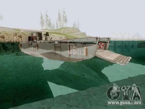 Landing Craft para la visión correcta GTA San Andreas