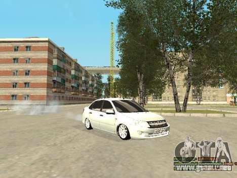 VAZ 2190 para GTA San Andreas left