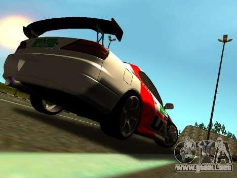 Nissan Silvia S15 Team Dragtimes para la visión correcta GTA San Andreas