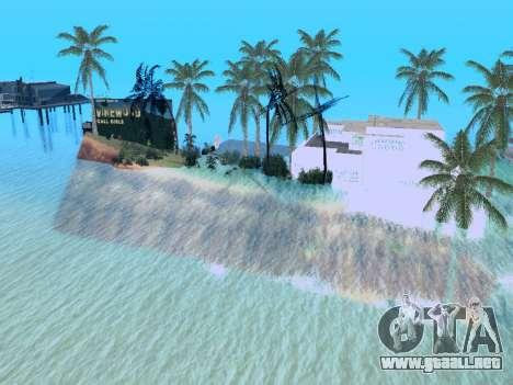Nueva isla v1.0 para GTA San Andreas octavo de pantalla