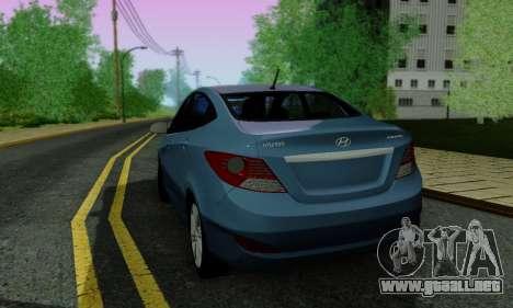 Hyndai Solaris para el motor de GTA San Andreas