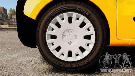 Peugeot Bipper LP EXPRESS [ELS] para GTA 4 vista hacia atrás