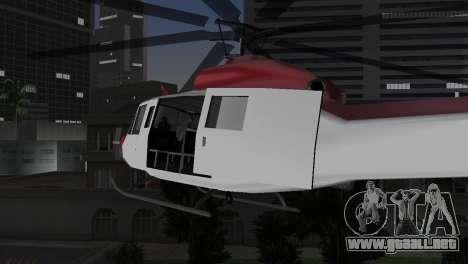 Bell HH-1D para GTA Vice City visión correcta