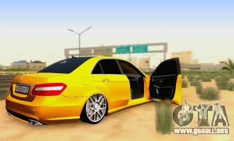 Mercedes-Benz E63 AMG para el motor de GTA San Andreas