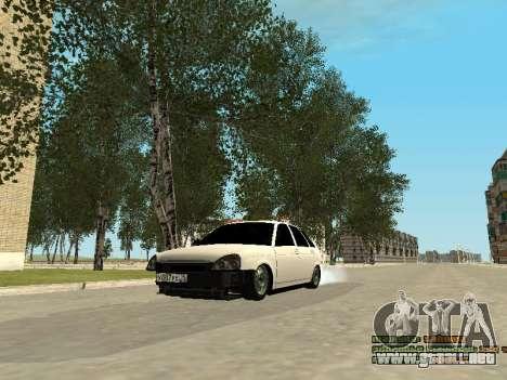 VAZ 2172 para GTA San Andreas left