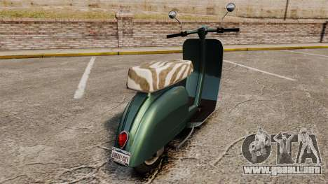 GTA IV TBoGT Pegassi Faggio para GTA 4 visión correcta