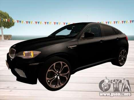 BMW X6M 2010 para el motor de GTA San Andreas