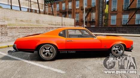 Declasse SabreGT new wheels para GTA 4 left