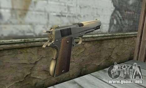 Pistola para GTA San Andreas segunda pantalla